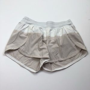 Lululemon two tone running shorts with lining 8